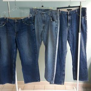 Bundle of mens Jeans